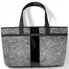 Black and White Graphic Print Tote