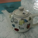 Crabtree & Evelyn Whimsy Floral Porcelain Teapot