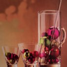 4 Piece Glass Barware Serving Set