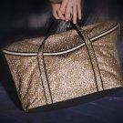 Victoria's Secret Glamour Tote Gold
