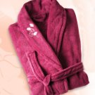 Plush Bathrobe Raspberry