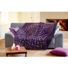 Royal Purple Throw Blanket