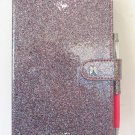 Victoria's Secret Limited Edition Angel Glitter Notebook Diary With Crystal Pen