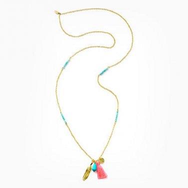 Victoria's Secret Ashiana Drop Pendant Necklace