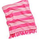 Victoria's Secret Beach Blanket Pink Stripe