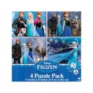 Disney Frozen Puzzles 4-Pack