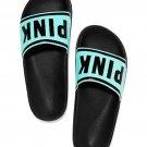 Victoria's Secret PINK Slide Sandals Blue