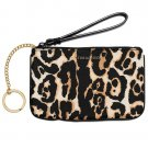 Victoria's Secret Beauty Rush Makeup Wristlet Leopard Print
