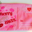 Victoria's Secret Limited Edition Merry Kiss-mas Holiday Cosmetic Pouch