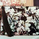 Bebe Magnolia Frost Floral Clutch