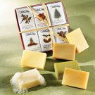 Icon Scented Holiday Soap Set of 6
