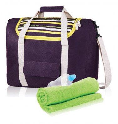Purple Sport Tote Bag