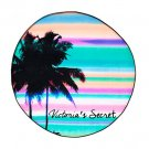 Victoria's Secret Tropical Stripes Roundie Beach Towel