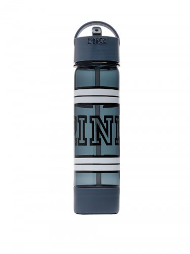 VS PINK Campus Water Bottle Old School Blue
