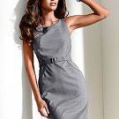 Venus Sleeveless Belted Shift Dress