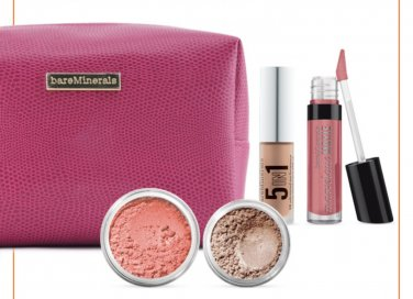 BareMinerals Flawless In A Flash 4-Piece Makeup Set With Bag