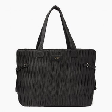 Victoria's Secret Textured Tote Black