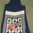 X-Rated Man's Funny Apron - Blue - Jeff Gordon