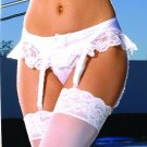 Satin garter belt