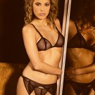 3 pc set fishnet bra, gstring n garter belt