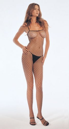 Lycra industrial fishnet bodystocking