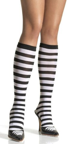 Stripe knee hi