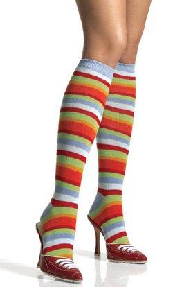 Rainbow knee hi