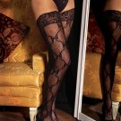 Lace thigh high with lace top