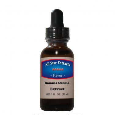 Banana Creme Flavor with dropper