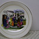 Mid 19th Century Antique WELSH COSTUMES Tea set Vintage China