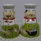 CHEF PIERRE SALT and PEPPER CLAY ART