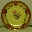 AYNSLEY Tea Cup & Saucer-C556-Maroon/Cream/Gold