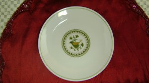 NORITAKE china HERMITAGE pattern #6226 bread plate