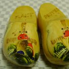 Vintage Holland  Wooden Shoes Salt and Pepper Shakers
