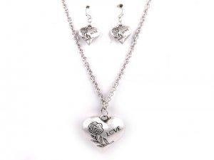 Fashion Jewelry LOVE Gray in Color