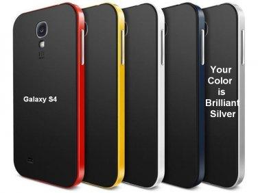 Samsung Galaxy S4 Siv i9500 (SILVER) Neo Hybrid High Quality Case