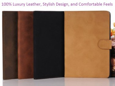 iPad Mini 100% Premium Leather Case with Stand Function