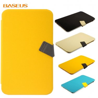 Baseus Brand Samsung Galaxy Tab 3 8.0 leather Case-(Yellow)