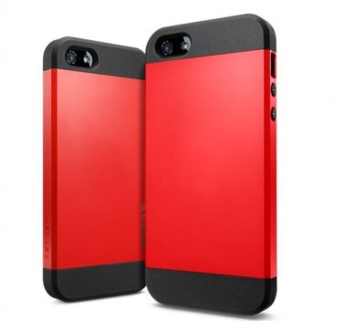 Apple iPhone 5C Case- 100% Genuine Rock Brand- Red