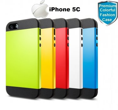 Apple iPhone 5C Case- 100% Genuine Rock Brand- Gren.  100% Genuine. Please Buy with Confident.
