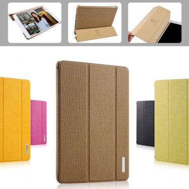 Tanger Tiger Baseus Folio Supporting Case For iPad mini (1/2/3 Retina)-Brown Color