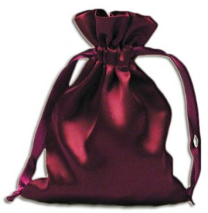 Wine Velvet Pouches (12 pcs)