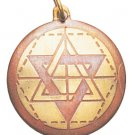 Star of Solomon Charm for Wisdom, Intuition, & Understanding