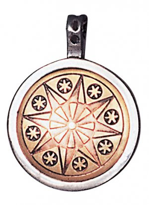 Earth-Star Flower Talisman for Serenity & Inner Strength