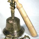 Brass Tibetan Dripu Bell and Dorje