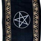 Triple Pentacle Altar Cloth