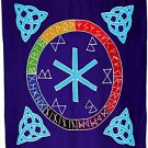 Triquetra Rune Mother Altar Cloth