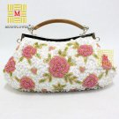 Floral Beaded Handcraft Evening Bag 6289#