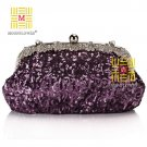 2013 Elegant Vintage Sequined Design Rhinestones Ladies Bag 8913#