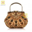 2013 Vintage Royal Princess Beaded Flowers Evening Bag,Handbag 560#